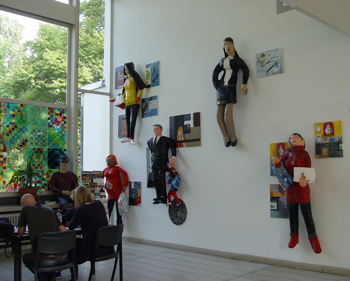 Kunst im Schulgebäude