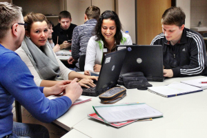 Studierende des Driland Kollegs